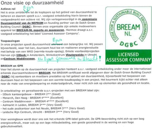 ASR Breeam