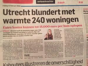 AD-Utrechts Nieuwsblad - 12-02-2016 (voorpagina)
